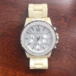 Women's Michael Kors Tortoise Watch